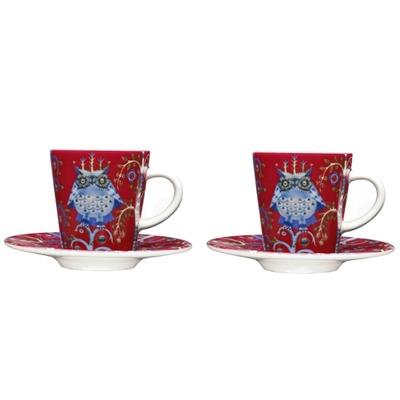 Iittala_Taika_rood_red_espresso_set_Bohero.JPG